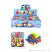 Packs of 20 Water Bombs - Bright Neon Colours